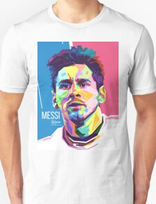 Lionel Messi in WPAP Pop Art T-Shirt