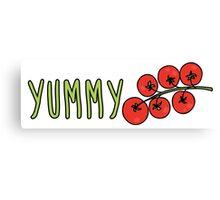Yummy Tomatoes Canvas Print