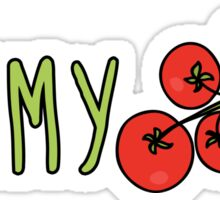 Yummy Tomatoes Sticker