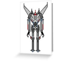 Transformers Prime Starscream Greeting Card