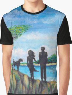 beach walk Graphic T-Shirt