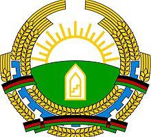 Emblem of Afghanistan, 1987-1992  by abbeyz71