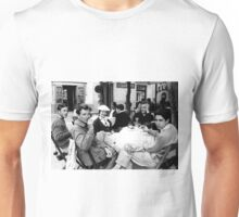 On Holiday in 1960's Italy where Coca-Cola is Served Unisex T-Shirt
