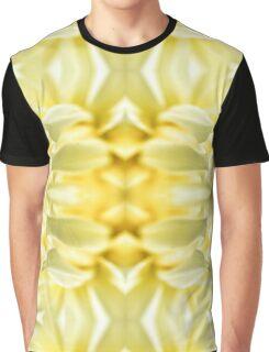 Bright Yellow Flower Graphic T-Shirt