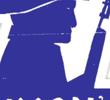 STOP NIXON'S WAR MACHINE Sticker