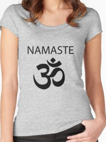 The French Mistake Meta!Misha Namaste  Women's Fitted Scoop T-Shirt