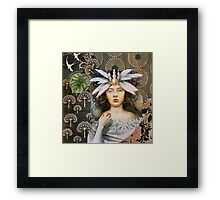 Snow Princess Framed Print