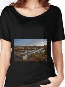 Bridges and Trains Women's Relaxed Fit T-Shirt