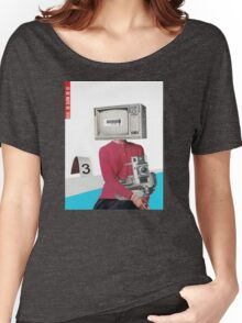 Portrait with Duke Women's Relaxed Fit T-Shirt