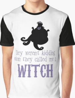 Nasty Sea Witch Graphic T-Shirt