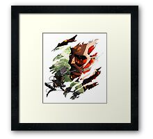 Attack On Titan - Eren Yeager Framed Print