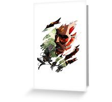 Attack On Titan - Eren Yeager Greeting Card