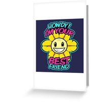 Flowey Greeting Card