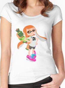 Splatoon Inkling girl Women's Fitted Scoop T-Shirt