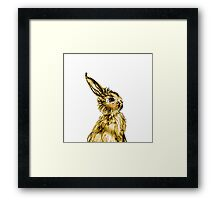 Easter Bunny Party Animal Framed Print