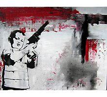 Gun II Photographic Print