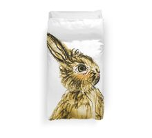 Easter Bunny Party Animal Duvet Cover