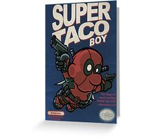 Super Taco Boy Greeting Card