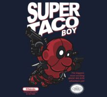 Super Taco Boy by rustenico