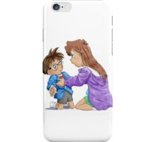 Ran meets Conan digital iPhone Case/Skin