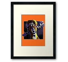 It's Showtime! Framed Print