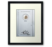 The 100 - Season 2 Poster - Clarke Griffin Framed Print