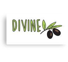 Divine Olives Canvas Print