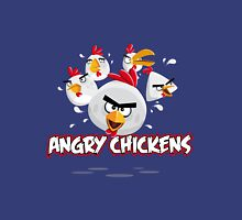 Angry Chickens 2 Unisex T-Shirt