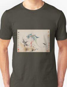 Hua Yan Birds and Flowers Unisex T-Shirt