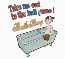 Ball Game - BathBoy Kids Tee