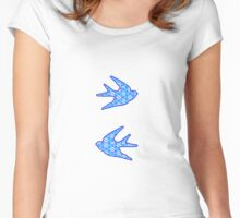 Blue Swallows Women's Fitted Scoop T-Shirt