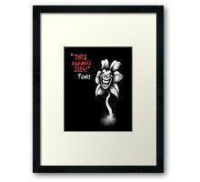 Flowey (Undertale) Framed Print