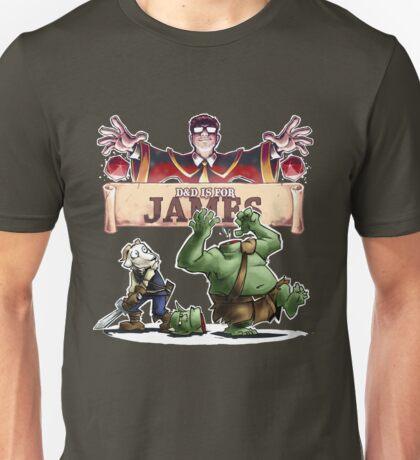 D&D is for James Unisex T-Shirt