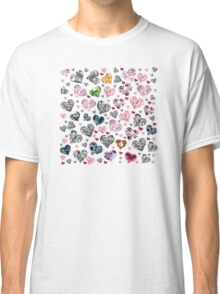 Heart Diamonds are Forever Love Valentines Couple Relationships Girl  Classic T-Shirt