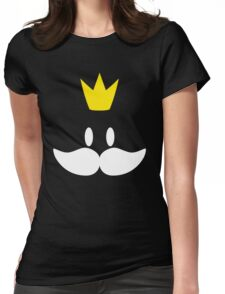 King Bob Omb  Womens Fitted T-Shirt