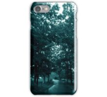 On The Road - rainy day (2015) iPhone Case/Skin