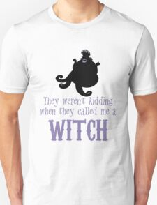 Nasty Sea Witch Unisex T-Shirt