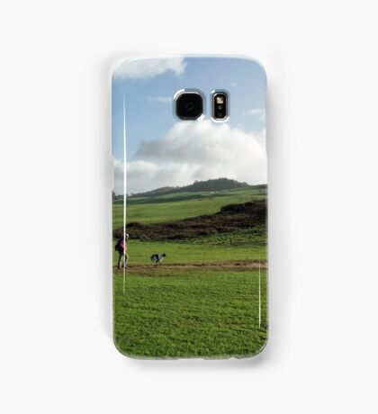 Walkers At Charmouth Samsung Galaxy Case/Skin