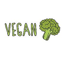 Vegan (Broccoli) Photographic Print