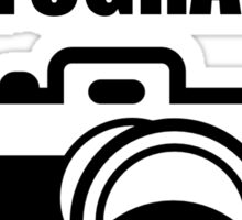 Photography Broke Sticker