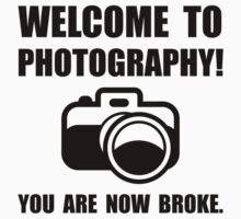 Photography Broke Kids Tee
