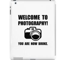 Photography Broke iPad Case/Skin