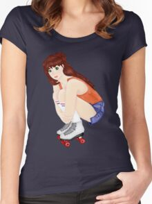 Roller Girl Women's Fitted Scoop T-Shirt