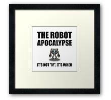 Robot Apocalypse Framed Print