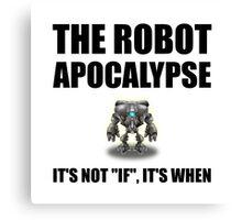 Robot Apocalypse Canvas Print