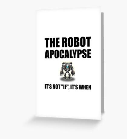 Robot Apocalypse Greeting Card