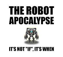Robot Apocalypse Photographic Print