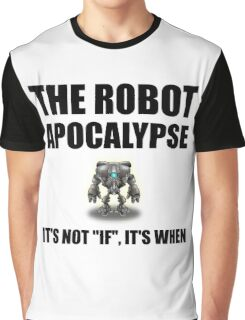 Robot Apocalypse Graphic T-Shirt