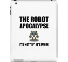 Robot Apocalypse iPad Case/Skin