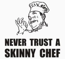 Skinny Chef One Piece - Short Sleeve